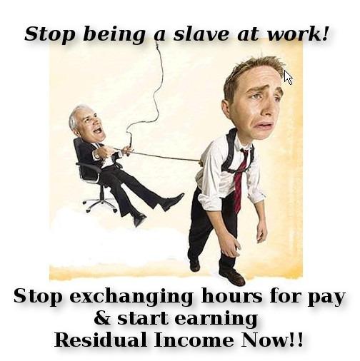 residual income job