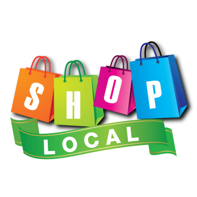 Shop Local Logo square PNG