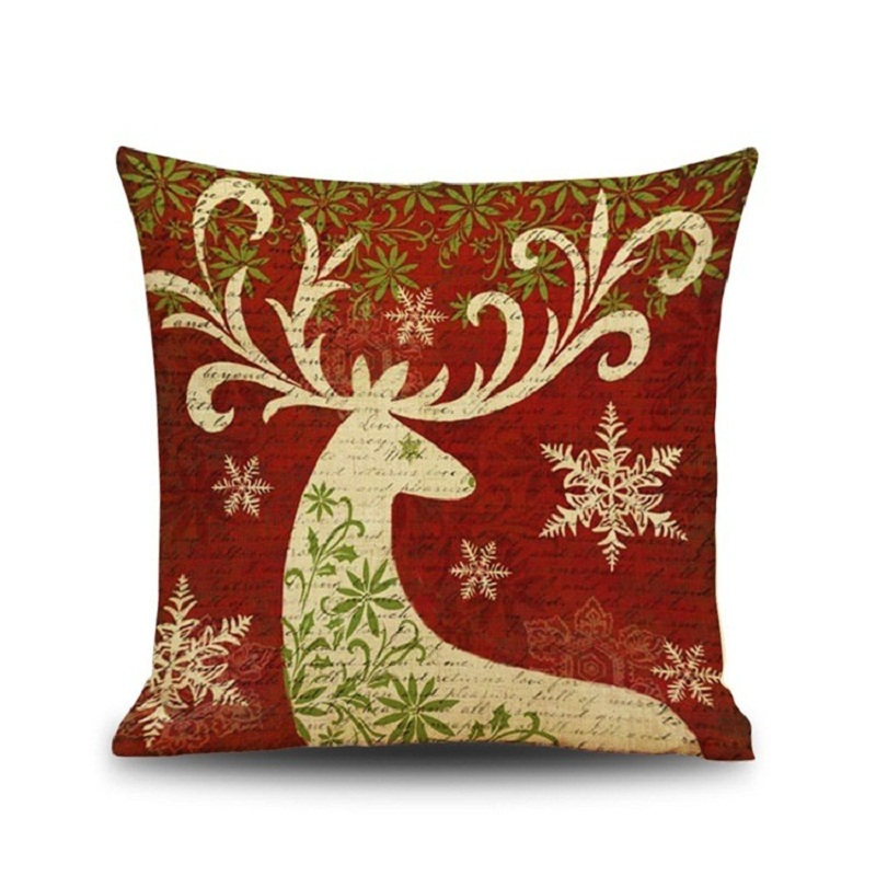 christmas decoration pillow cover add to wishlist loading