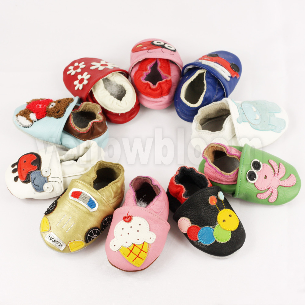 Soft Leather Baby Shoes Slippers Skid-Proof  280510dfb