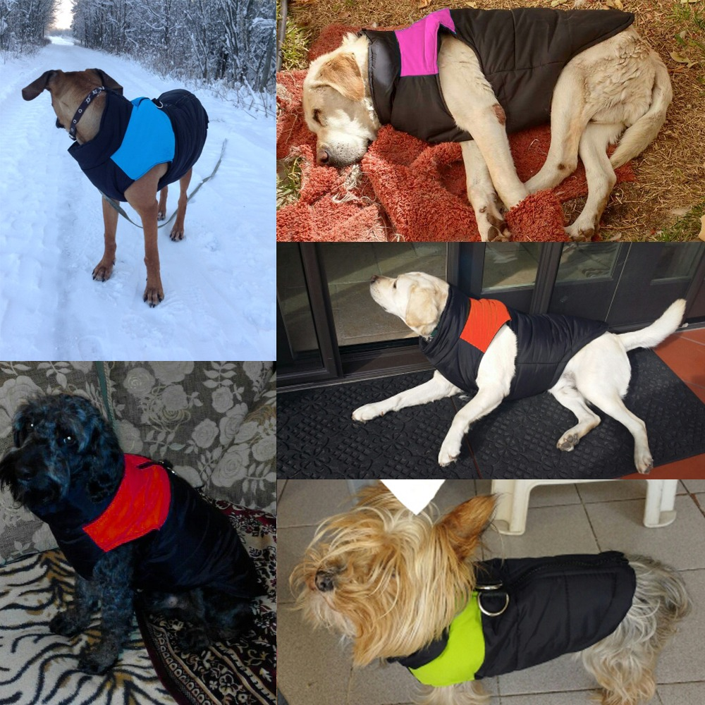 Waterproof Pet Dog Puppy Vest Jacket Chihuahua Clothing Warm Winter